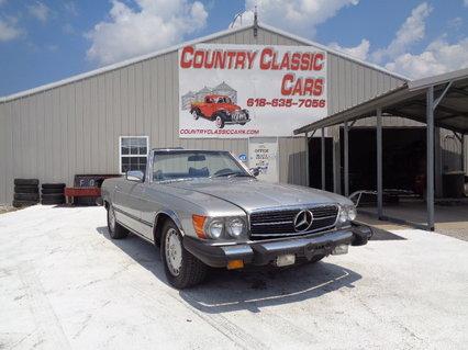 1976 Mercedes 450 SL Conv