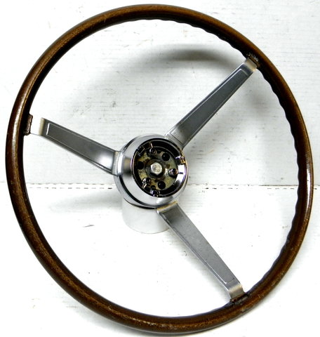 1968 Firebird GTO  Factory  Wood Steering Wheel