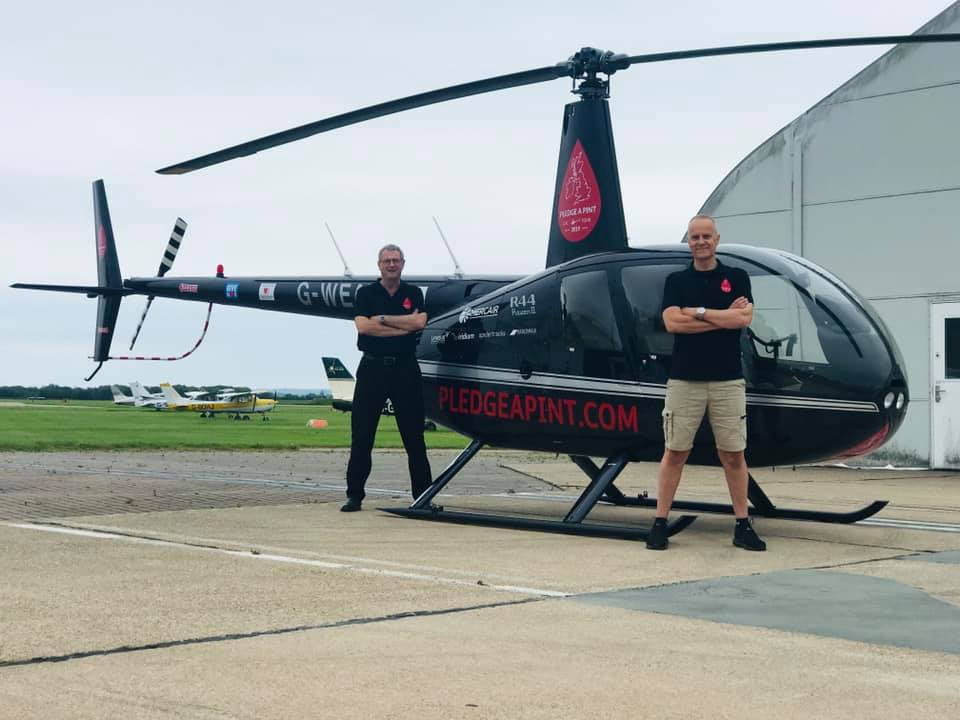 Pledge a Pint Helicopter Tour of UK - - PPRuNe Forums