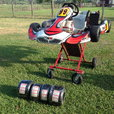 RACING GO KART & TRAILER  for sale $5,000