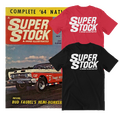 SUPER STOCK & DRAG ILLUSTRATED T-Shirt  for sale $21.95