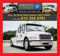 WANTED TO BUY - FREIGHTLINER PETERBILT KENWORTH HAULER TRUCK  for sale $123,456