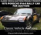 For Auction - 1975 Porsche 914-6 Rally Car