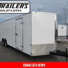 2021 Continental Cargo 24ft V-Nose Car / Racing Trailer