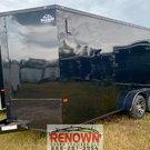 *2021* 7X16 Tandem Axle Enclosed Cargo Trailer BLACKOUT
