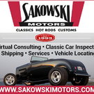 Classic Car Locating, Inspections, Sales, Shipping, Advising