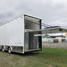 39' Liftgate Custom Trailer