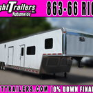 2019 - 46' Vintage Trailers Living Quarters Trailer