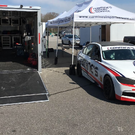 2013 BMW IMSA ST 328i Racecar w/Finished A/C Race Trailer