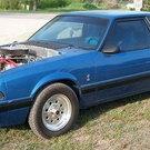 1989 Pro Strip/Street Notch-Back Mustang
