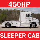 FREIGHTLINER COLUMBIA BIG BLOCK 450HP HAULER W/ SLEEPER