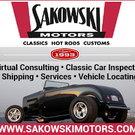 Classic Car Locating, Inspections, Sales, restorations