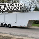 2008 5150 37' Gooseneck Vender / Race Trailer