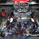 Racing Engine - Steve Schmidt Nitrous 568 with 3 kits