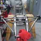 225 REAR ENGINE  DRAGSTER CHASSIS