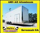 2018 Cargo Mate 8.5×28 All Aluminum Auto Master STACKE  for sale $34,895