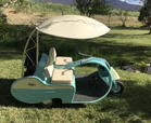 1957 walker-executive-golf-cart  for sale $9,000