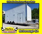2019 Cargo Mate 8.5x24 ALL ALUMINUM Stacker w/ Full Floor Li for Sale $40,330