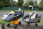Superkart and CRG shifterkart