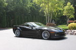 2009 Corvette ZR1, Black on Ebony, 2260 One Owner Miles