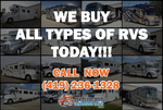 WE BUY RV'S