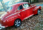 48 ford 2 door coupe, hot rod