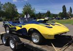 68 Corvette Drag Car