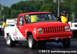 Jeep Comanche R/SA Tired of HP Hits NHRA 1.25 Under
