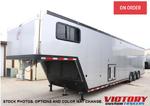 2021 inTech 44' Aluminum GN Race Trailer with Bathroom Packa