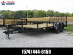 2021 BNM Trailer Sales Inc 7x18 Open Landscape Trailer Utili