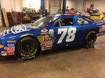 Pristine NASCAR Busch Road Race Car  d Raced Rce