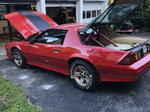 86 iroc drag/street rod and trailer
