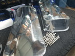 BBC VALVE COVERS,NEW,TALL,FABRICATED