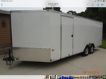 2005 All Aluminum Forest River car trailer