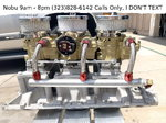 Tri-Power Set-Up for Ford 289 302 351 V-8 Engines