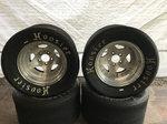 Hoosier TA1 Road Racing Tires and Wheel Package