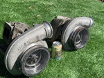 Twin Borg Warner 80mm turbos