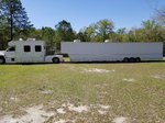 Racing trailer and truck