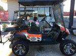 Custom Harley Davidson gas golf cart