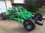 2002 Left Hander 1716 rolling chassis with Camaro front clip