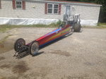 Spitzer dragster complete with trans and conv