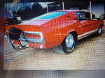 68 Mustang Fastback Racing Parts