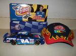 action Jeff Gordon Pepsi car&cap