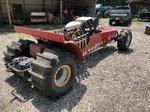 Rear engine mud or sand racer