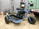 mini bike with custom side car