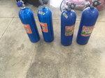 NOS bottles with super hi-flow valves