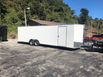 NEW 2019 OUTLAW Enclosed Race Trailer
