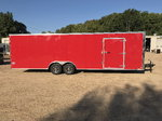 NEW 2019 UNITED TRAILER 8.5 X 28 TANDEM AXLE ENCLOSED CAR HA