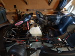 CRG complete kart with leopard my08 125cc 2 stroke TAG