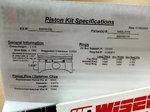 Wiseco Pistons K463X155